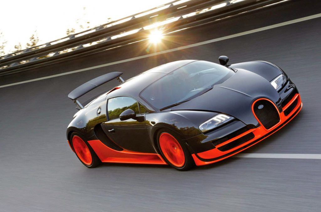 BUGATTI_VEYRON top 10 most fastest cars