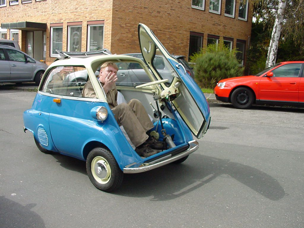 Isetta smallest car in the world