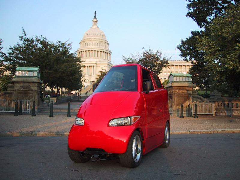 The Tango T600 smallest cars in the world 2018