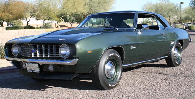 1969 Chevrolet Camaro COPOZL1 fastest car in america