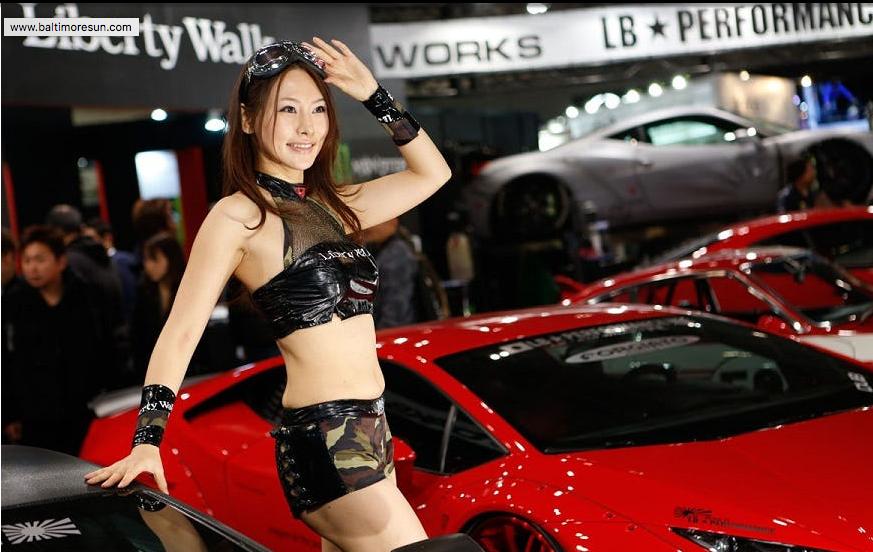 Tokyo Motor Show or Auto Salon Chiba, Japan January 2016